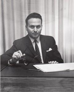 Dr Osman P.Gialloreto à Villa Medica, 1964